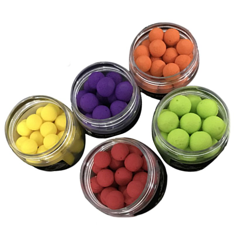 1 Box Smell Pop up Fishing Lure Boilies Floating Carp Baits Soluble in Water 14mm in Fishing Lures from Sports Entertainment