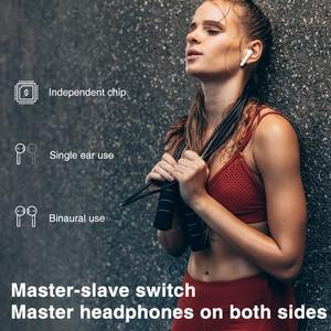 Image 5 - TWS אמיתי אלחוטי אוזניות Binaural סטריאו Bluetooth 5.0 אוזניות אלחוטי אוזניות עם LED תצוגת מקרה הסלולר
