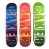 Professional Skateboard Baker Deck 8.0 Inch U-Shaped Transverse Skateboard 7-Layers Canadian Maple