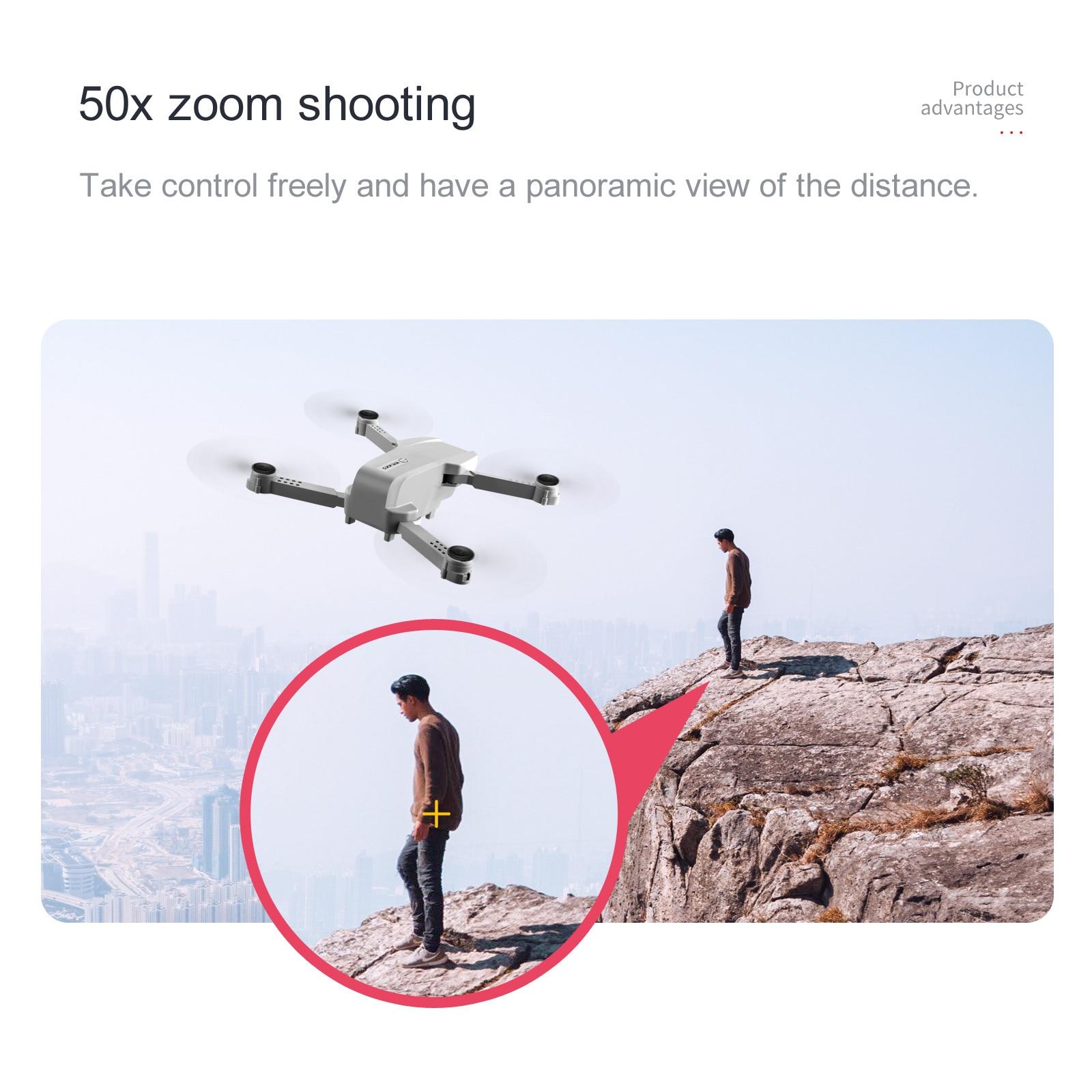KK5 Drone 4k HD Wide Angle Camera WiFi Foldable Quadcopter