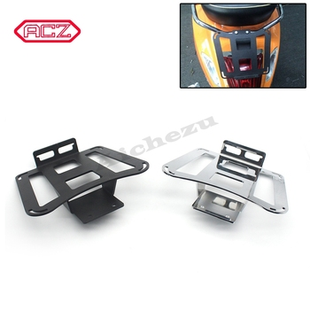 Motorcycle Accessories Aluminum Rear Luggage Bag Bracket  Case Rack for VESPA Sprint Primavera 150 GTS300 2017-19 Holder