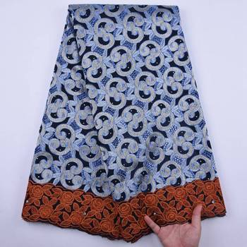 Cotton Swiss Voile Lace In Switzerland With Stones African Dry Lace Fabric 2020 High Quality Lace For Nigerian Men Dress S1859