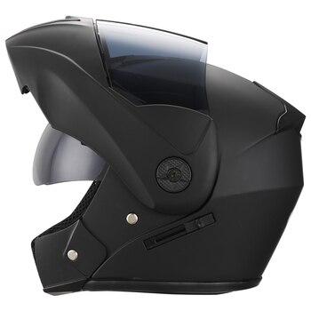 2 Gifts Unisex Racing Motorcycle Helmets Modular Dual Lens Motocross Helmet Full Face Safe Helmet Flip Up Cascos Para Moto kask 13