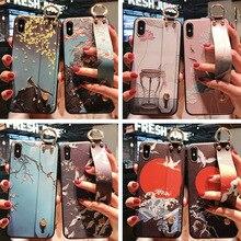 Wrist Bring Silica Gel Ring Hand Shell Apply Apple Vivo Huawei Oppo Three Stars Tpu Protect Sheath