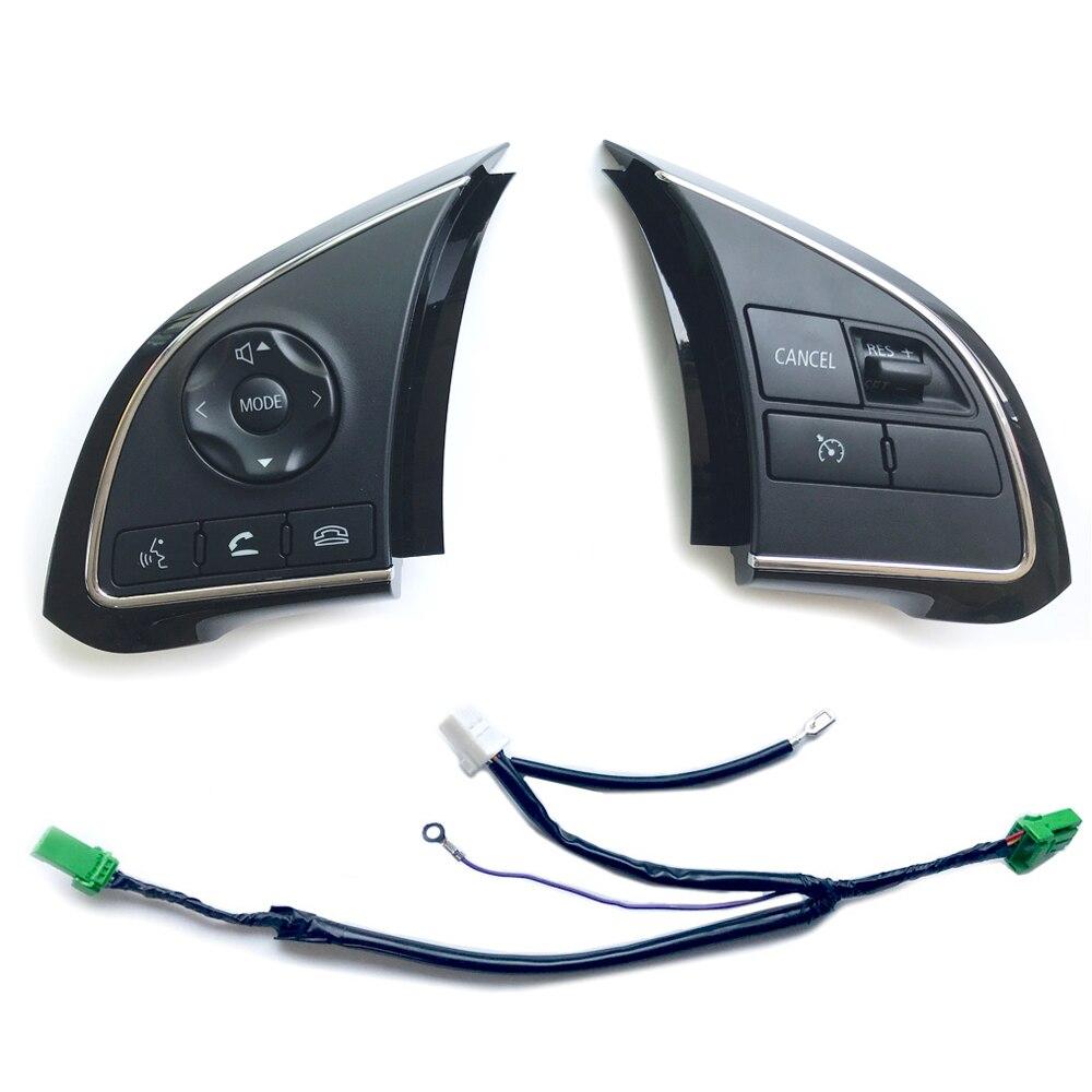 Автомобильный переключатель круиз-контроля аудио Bluetooth рулевая кнопка для Mitsubishi Outlander 3 Sport GT Xpander Eclipse ASX