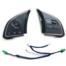 Interruptor de controle de pegada automotiva, interruptor de áudio com bluetooth, botão volante para mitsubishi outlander 3 sport gt xpander ecbatse asx