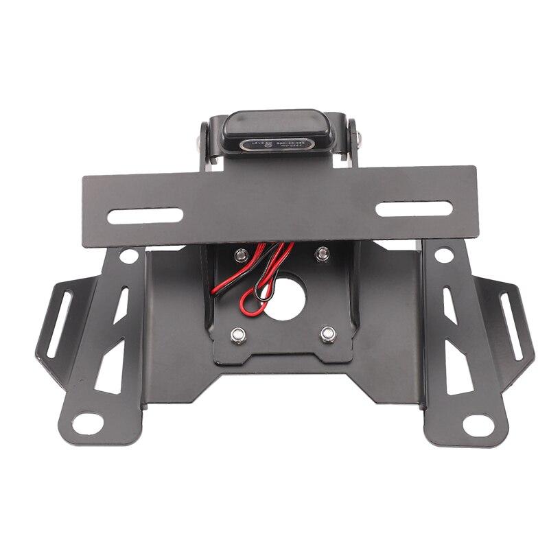 Accessoires de moto support de plaque d'immatriculation de l'éliminateur de garde-boue support de plaque d'immatriculation pour HONDA CB650R CBR650R 2019