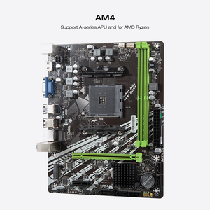 Image 3 - MAXSUN Motherboard AM4 A320M VH M.2 Challenger AMD ddr4 memory slots Rams nmve m.2 sata iii ssd HDMI+VGA mainboard for desktop