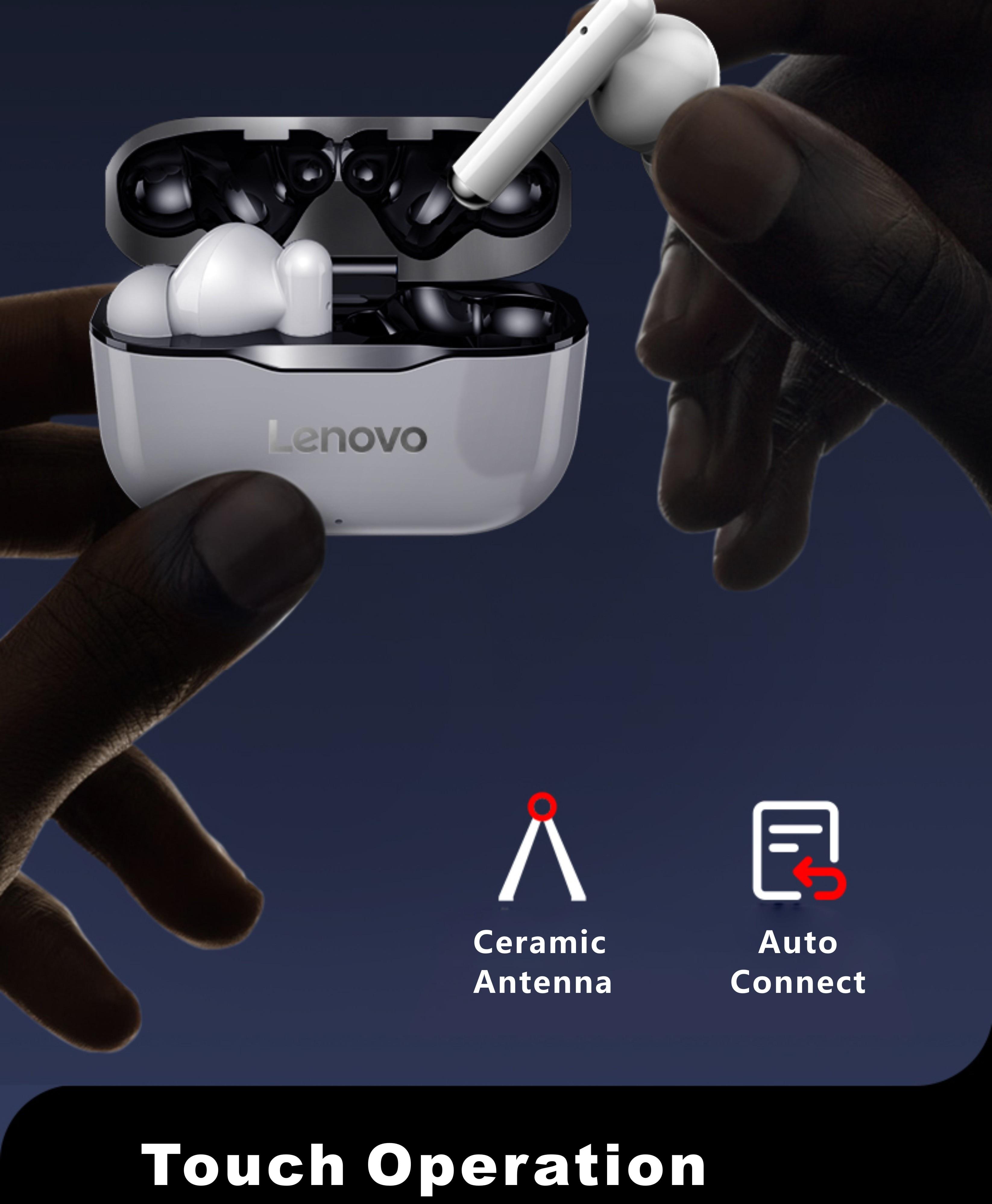 Lenovo LivePods LP1 TWS Wireless Bluetooth Earbuds 9