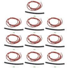 10 pces jmt cabo de tensão externa rx para futaba 14sg 70v 18mz r7008sb
