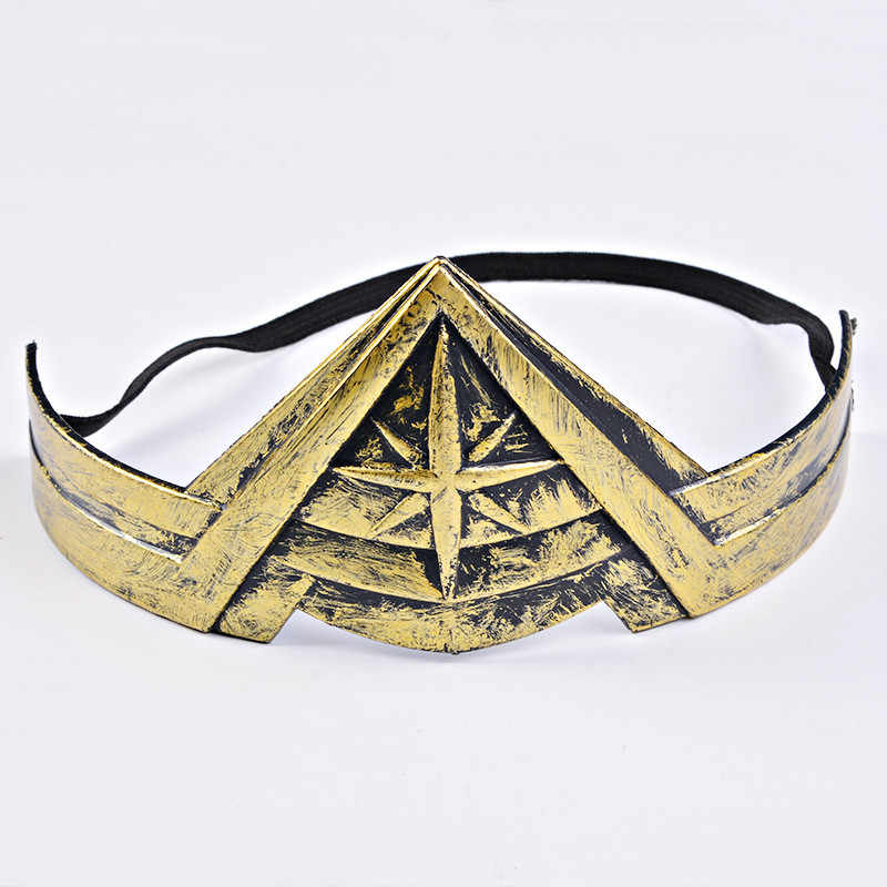 Halloween Cospaly Hot Wonder Woman Bracers nakrycia głowy Justice League kostium akcesoria wykonywanie zabaw rekwizyty DC komiks zabawki dla dzieci