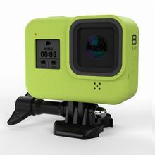 Kamera sportowa odporny na upadek futerał silikonowy do kamery sportowej GoPro Hero 8 akcesoria do aparatów fotograficznych do akcesoriów Gopro tanie tanio Vwinget For Gopro Hero 8