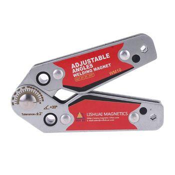цена на Adjustable Magnets Welding Locator Magnetic Holder Welding Fixture Corner Clamp N1HF