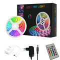 5M 10M LED 5050 RGB Strip Light APP R Remote Wifi Control Color Changing for Holiday Dress Up Bedroom