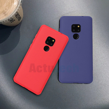 Matte Soft TPU Case For Huawei Mate 20 Pro X 10 P30 P20 Lite Nova 4 Silicone Cover For Honor 8X Max 8C Note 10 9 Lite Phone Case soft black tpu phone cases for huawei honor 8x max 8c nova 3 3i mate 20 lite pro x rs p20 lite plus y9 2019 case