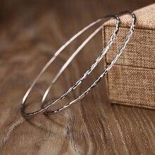 925 sterling silver 2cm-6.5cm Big silver hoop exaggeration earrings Elegant temperament fashion design hoop earrings for women