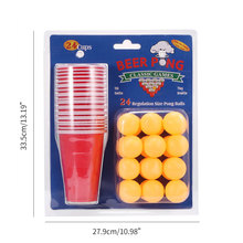 1 Set Entertainment Fun Party Ping Pong Game Party Game Thro