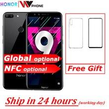 "Honor 9 Lite 5.65 ""Octa Core 2160*1080P Mobiele Telefoon Dual Font Achter Camera 3000Mah Vingerafdruk faceid"
