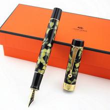 Jinhao century серия мраморная целлулоидная перьевая ручка красивый