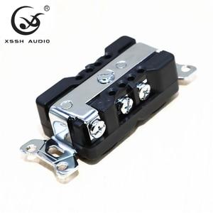 "Image 2 - 1pcs 2pcs XSSH אודיו טהור נחושת מצופה זהב רודיום 20amp 20A 125V אמריקה סטנדרטי בארה""ב כוח שקע חשמלי לשקע"
