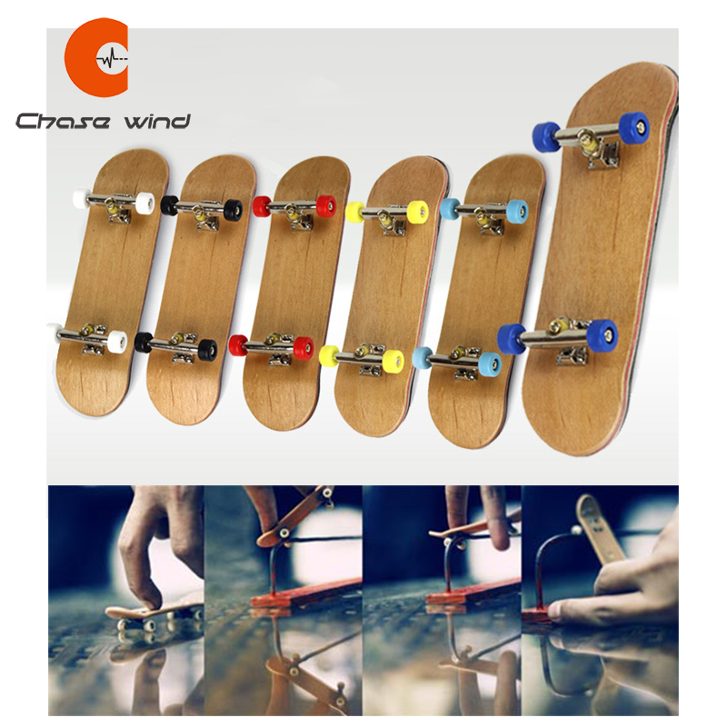 Professional Fingerboard Maple Skateboard Alloy Bracket Double Rocker Gift For Extreme Sports Enthusiasts Suitable For All Age