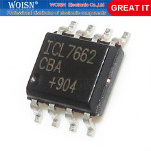 5 pçs/lote ICL7662CBA SOP-8 ICL7662 SOP8 ICL7662CBA + T SOP8 CMOS Voltage Converters IC Em Stock