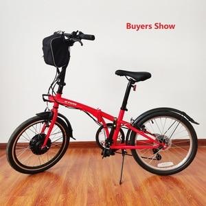 Image 5 - Schuck Kit de conversión de bicicleta eléctrica rueda de Motor delantero, 24V, 250W, con pantalla Kunteng KT LCD3 de 16 28 pulgadas, 700C