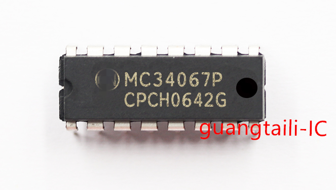 10PCS <font><b>MC34067P</b></font> DIP MC34067 DIP16 MC34067PG Liquid crystal power board chip New original image