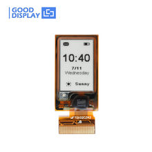 1.02 inch e-ink display small mini flexible e-ink screen GDEW0102I3F