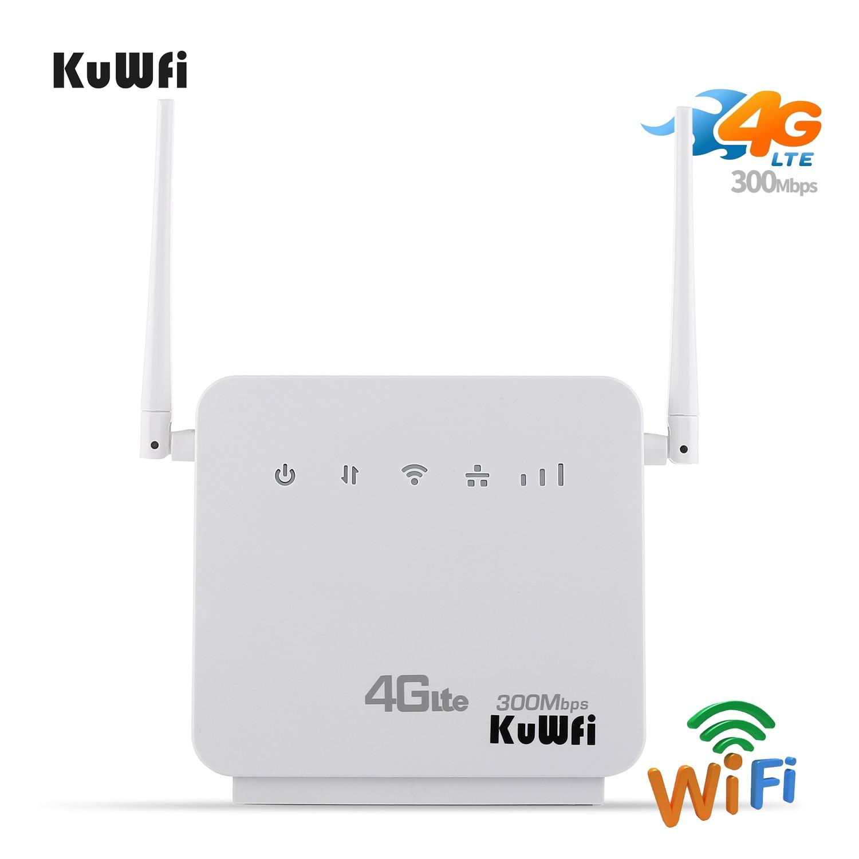 Desbloqueado 300Mbps Wi-fi Roteadores 4G LTE CPE Router Móvel com Porta LAN Apoio cartão SIM e Europa/ ásia/Oriente médio/África