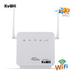 Sbloccato 300Mbps Wifi Router 4G LTE CPE Mobile Router con Porta LAN carta di Sostegno SIM e In Europa/ asia/Medio Oriente/Africa