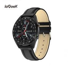 L7 Smart Watch Men Sports Tracking IP68 Waterproof Smartwatch Heart Rate Wristwatch Multi Sport Mode