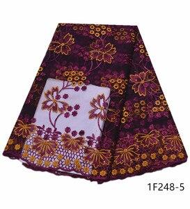 Image 4 - Najlepsze wino czerwone francuskie tiulowe siatka koronka najnowsze nigeryjskie afrykańskie tkaniny dla damska suknia ślubna z kamieniami haftowane 1F248