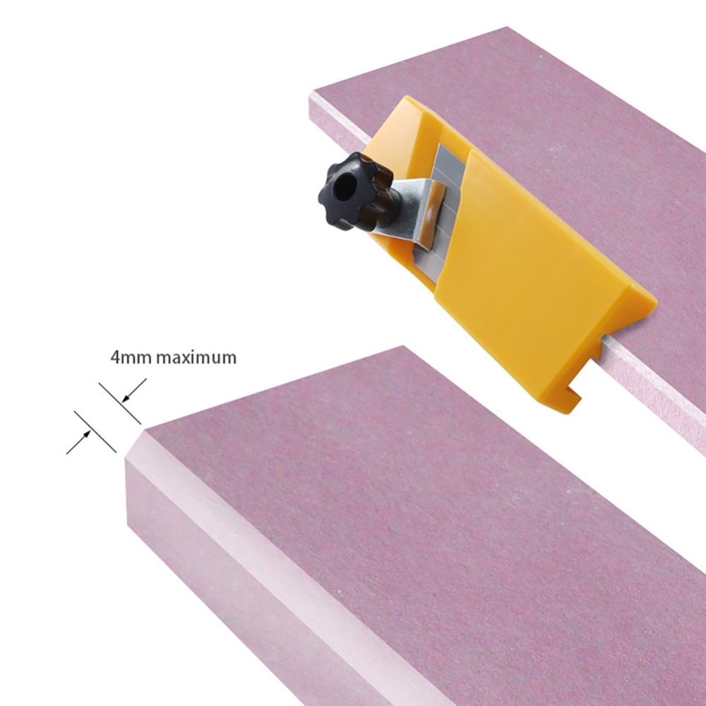 Plasterboard Gypsum Board Wood Planer Edge Planing Woodworking Hand Tool Standard 90 degree Jig plane blade in Hand Planes from Tools