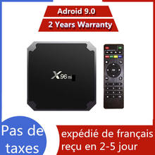 X96 iptv box Best android 9.0 tv box smart tv 1GB 8GB 2GB 16GB x96 Media Player smart ip tv mini set top box ship from france