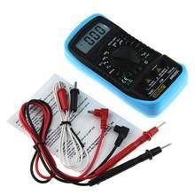 Multímetro digital profissional quente an8205c display lcd multímetro digital ac/dc termômetro amperímetro voltímetro ohm medidor testador