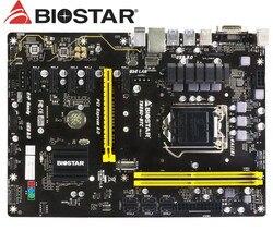 BIOSTAR TB250 BTC wydobycie płyty głównej płyta główna DDR4 LGA 1151 32GB USB2.0 USB3.0 B250 pulpitu płyta główna|desktop motherboard|motherboard for asusmotherboard motherboard -