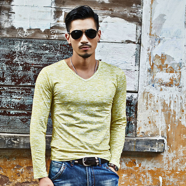 Trendy  Casual Long Sleeve  T-Shirt for Men