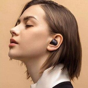 Image 5 - Xiaomi Redmi Airdots 2 TWS Bluetooth kablosuz kulaklık Stereo bas kulakiçi sesli kumanda BT 5.0 gürültü azaltma musluk AI kontrolü
