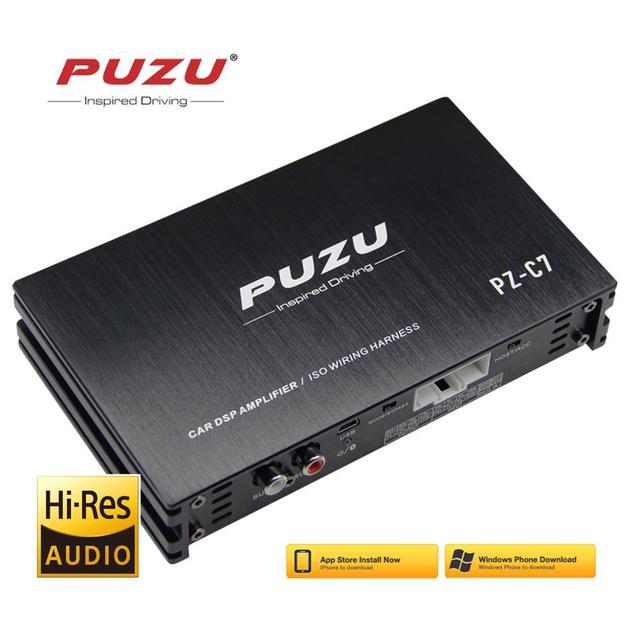 Dây nối 4X150W Xe DSP Bộ khuếch đại Android Phần Mềm ứng dụng Radio âm thanh nâng cấp âm thanh kỹ thuật số Bộ xử lý tín hiệu