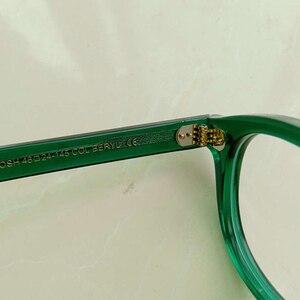 Image 5 - สีเขียวJohnny Deppแว่นตาผู้หญิงAcetate Retro Presbyopic Diopter + 1.0 + 1.5 + 2.0 + 2.5 + 3.0 + 3.5 + 4.0 Handmade