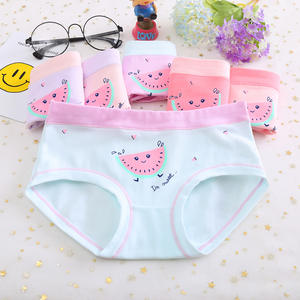 Panties Girl Underwear Bragas Calcinhas Baby Kids Cartoon Cotton New Year Children 4pcs/Lot