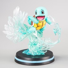 GK Anime Bulbasaur Squirtle Charmander pikaqu Charizard เรซิ่นรูปปั้นขนาดเล็ก Fire Dragon PVC Action Figures Collection(China)