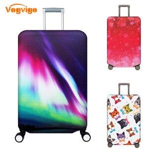 Image 3 - VOGVIGO, Maleta de viaje más gruesa, Fundas protectoras para la caja del maletero, se aplica a 18  32, cubierta de la maleta, elástico perfectamente, nuevo
