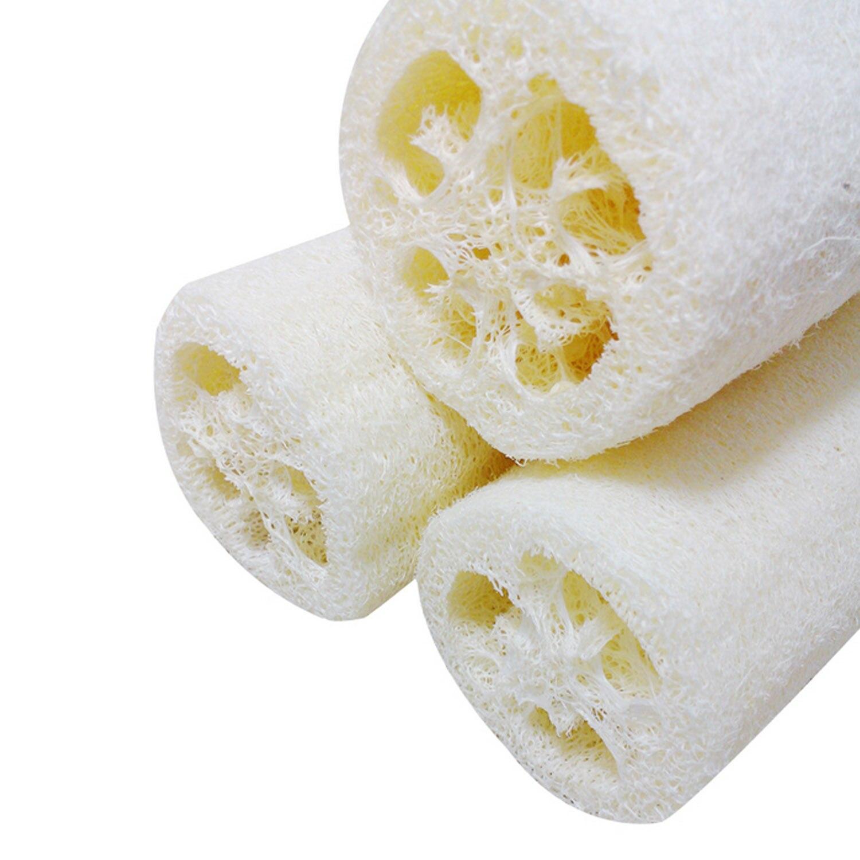 4шт натуральный люфа губка тело душ отшелушивание слойка скраб удаление роговица для мужчин женщин ванна принадлежности