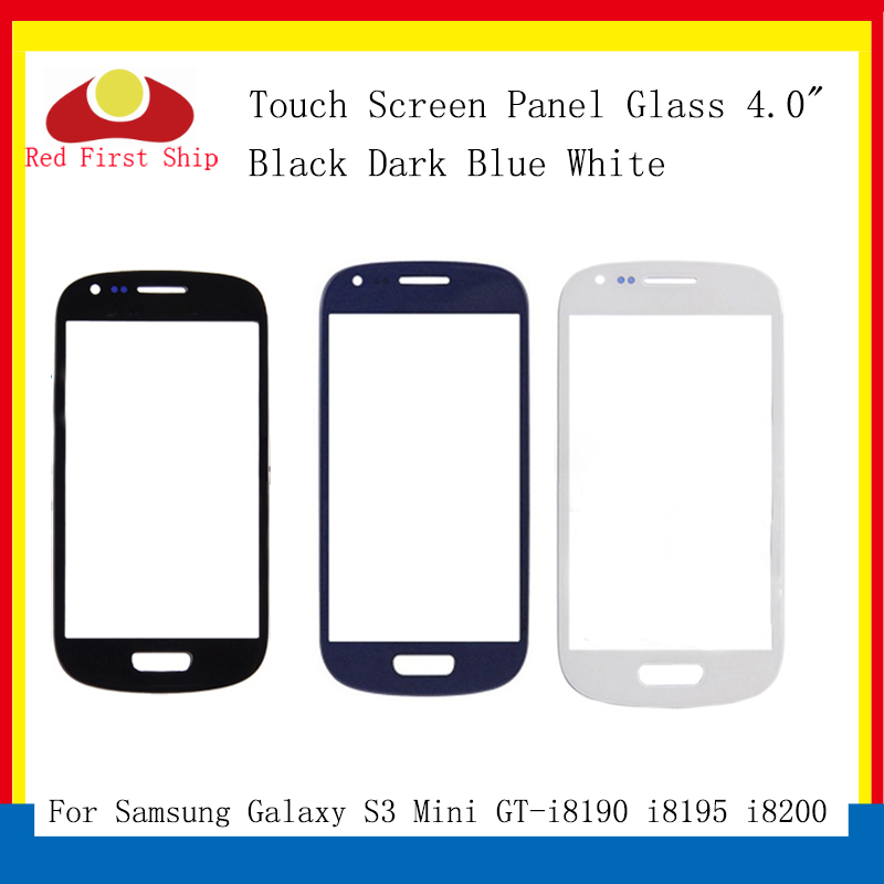 10Pcs/lot Touch Screen For Samsung Galaxy S3 Mini i8190 8190 GT-i8190 Touch Panel Front Outer S3 Mini LCD Glass Lens image
