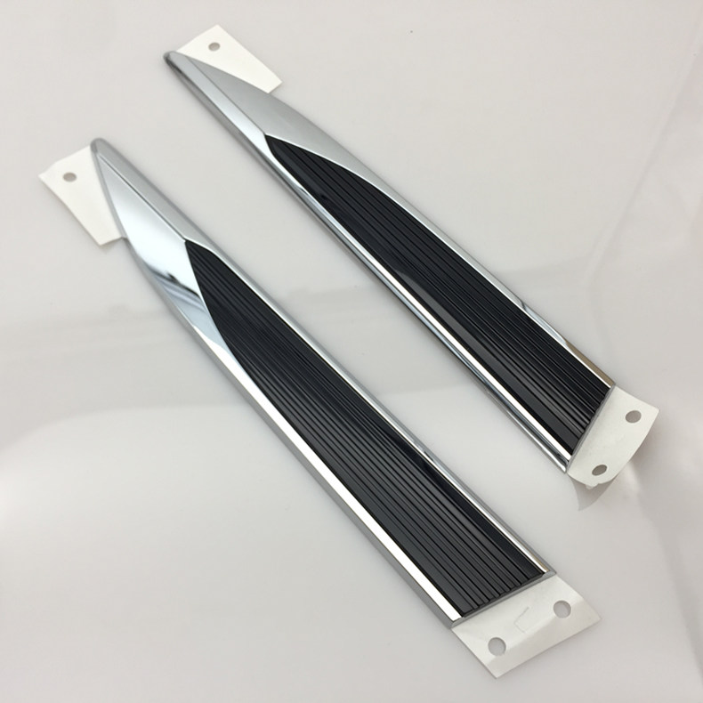 For VW POLO 2019 2020 Car Original Side Wing Fender Door Emblem Badge Sticker Trim Styling 2pcs/kit