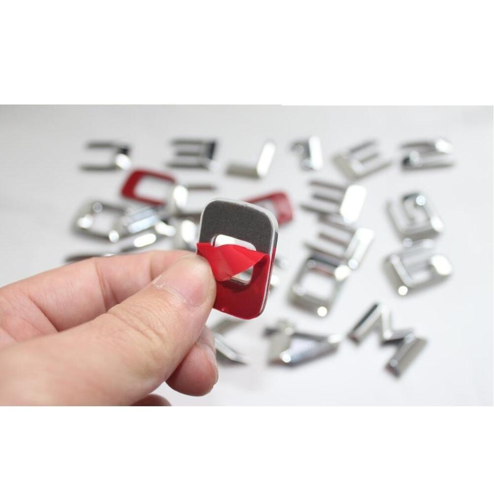 3d letras cromadas para mercedes benz x166 01