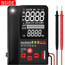 BSIDE דיגיטלי מודד EBTN תצוגה אנלוגי Tester DC AC מד מתח קיבול דיודה NCV אוהם Hz מבחן LED חי מתח מחוון