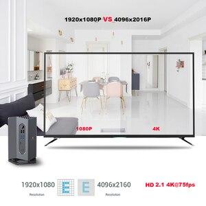 Image 5 - A95X MAX Plus Gaming TV Box Android 9.0 Amlogic S922X 4GB RAM/64 GB ROM 1000M LAN lecteur multimédia avec manette 2.4G télécommande